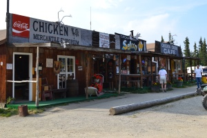 downtown Chicken, Alaska