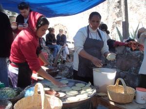 delicious gorditas in San Miguel