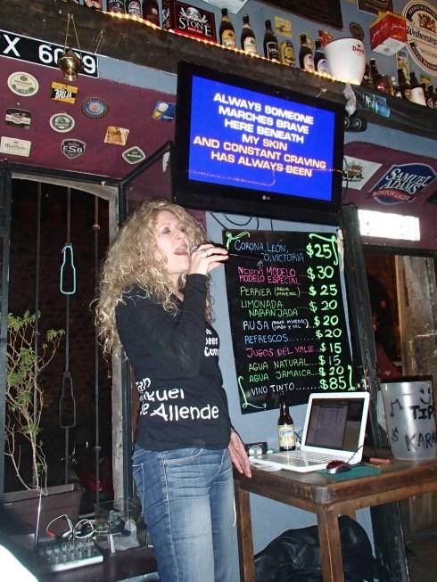 Karaoke Annie!